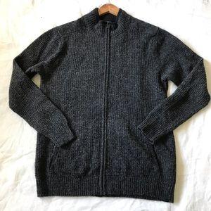 Pendleton // Full Zip Shetland Wool Sweater Jacket